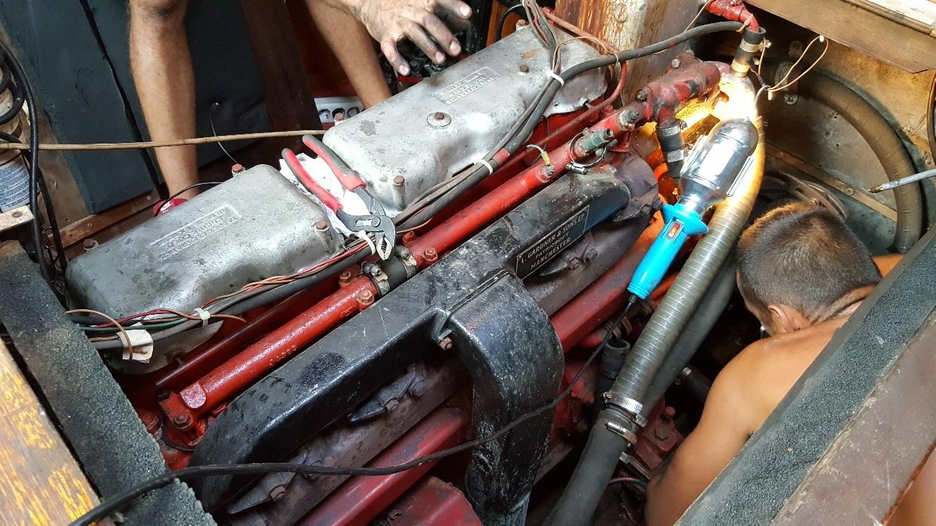riparazione-motore-spirit-of-chemainus