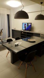 Il soggiorno della camera a Chaina a Creta