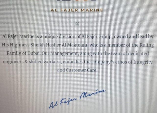 Al Fajer Marine